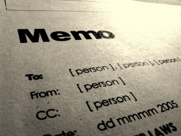 Before You Send Out That Memo…